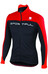Sportful Flash Jas Heren rood/zwart